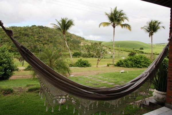 Rede esperando você para curtir a Fazenda da Reserva Ecológica Osvaldo Timóteo