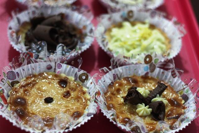 Tortelete (empada doce) do food bick de Natália e Marta Simões