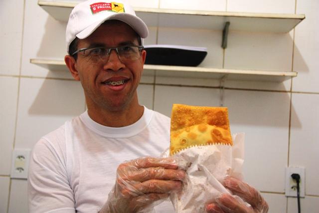 Gilberto, alagoano de Capela entre os 12 melhores pasteis do Brasil no concurso do programa de Ana Maria Braga