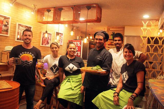 Dalton o criador e seus aliados Vanessa, Lady, Agustín (chef), Saboya e Camila
