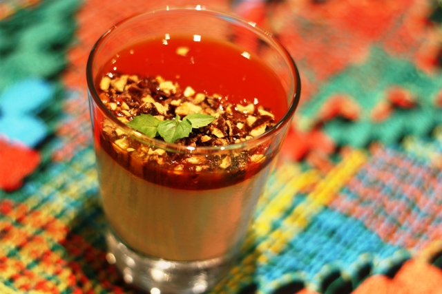 Sobremesa Pana Cotta Tropical, sabor da infância