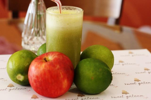 Suco verde para quem ama dieta