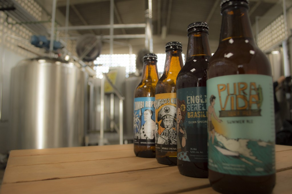 Os quatro tipos de cerveja da Caatinga Rocks
