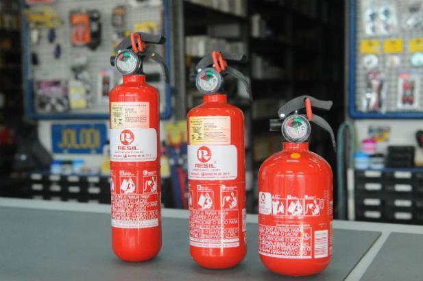Extintores não são mais obrigatórios   foto: google