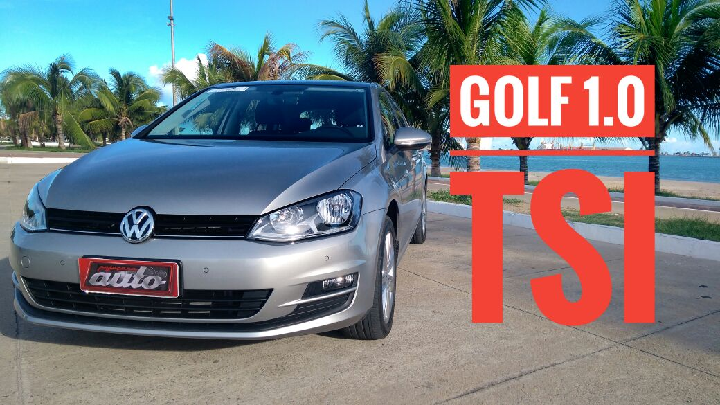 Vídeo: Como anda o Golf 1.0 com motor turbo!