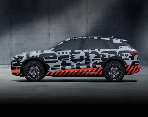 Futuro é agora: Audi inicia fabricação do e-Tron, ,seu primeiro SUV elétrico