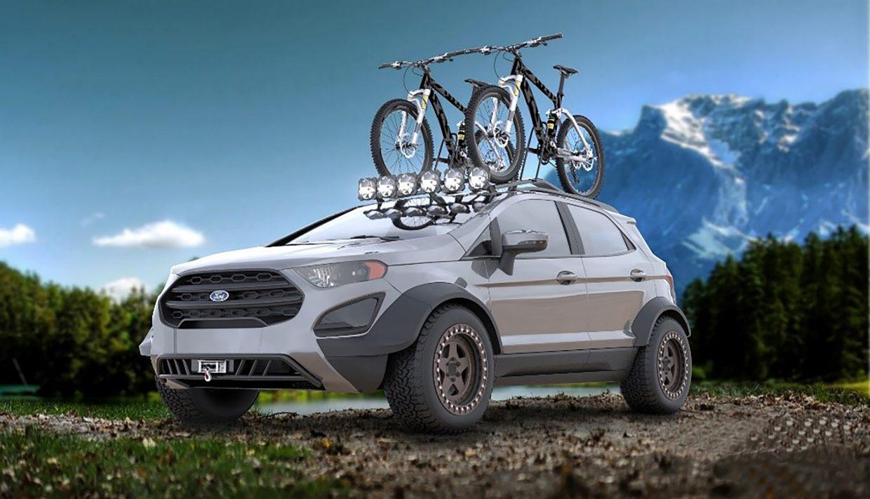 Mustang, Ecosport e Ranger como você nunca viu: Ford mostra versões tunadas em Las Vegas
