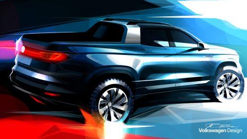 Rival da Toro? Volkswagen vai mostrar nova picape no Salão de SP