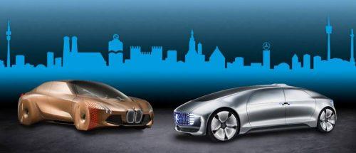 Mercedes e BMW se unem para produção de veículos autônomos