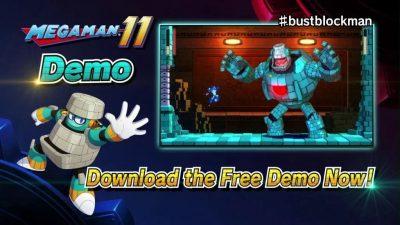 Mega Man 11: demo é liberada para PS4, Xbox One e Switch