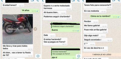Menina de 14 anos é assediada por entregador após pedir sorvete pelo WhatsApp