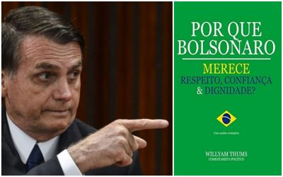 Livro em 'apoio' a Bolsonaro com 188 páginas em branco gera polêmica e viraliza