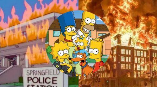 """Seriado """"Os Simpsons"""" previu o que está acontecendo nos EUA, segundo internautas"""